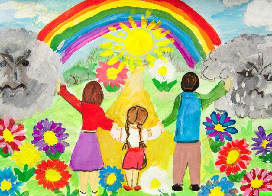 Конкурс детского рисунка миру мир